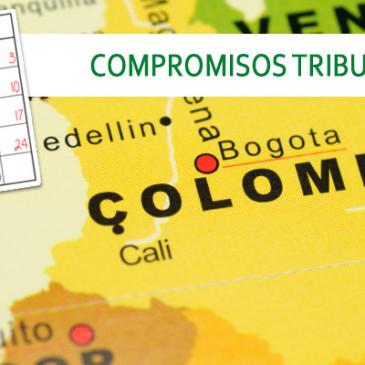 Compromisos Tributarios Colombia Abril 2016