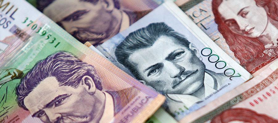 Peso-Colombiano nfwswsaxkas